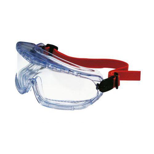 Uzavreté ochranné okuliare V-Maxx s čírymi sklami