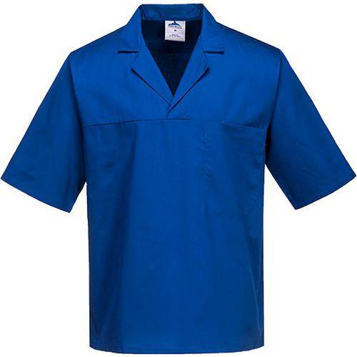 Košeľa pekárska s krátkym rukávom, svetlomodrá