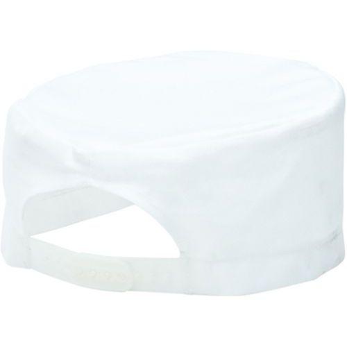 Kuchárska čiapka Skull, biela