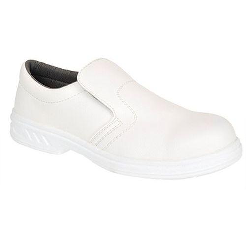 Poltopánky Slip On O2, biela