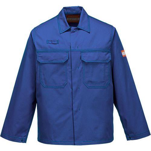 Chemicky odolná bunda, modrá
