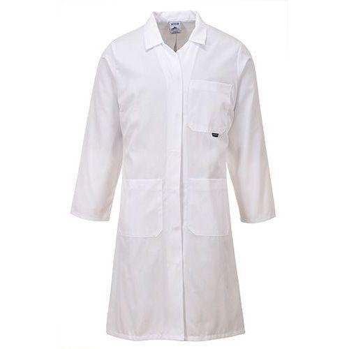 Plášť Standard, biela
