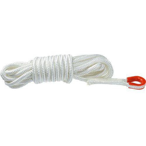 Statické lano 10 metrové, biela