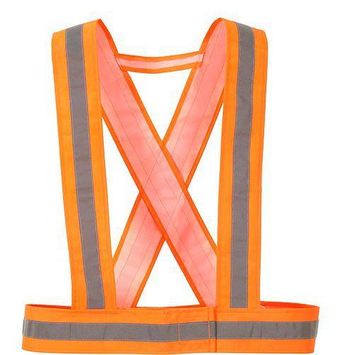 Hi-Vis popruhy, oranžová