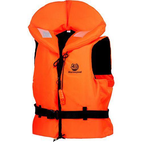 Záchranná plávacia vesta 100N, oranžová