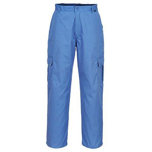 Nohavice Anti-Static ESD, modrá
