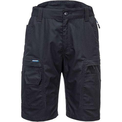 KX3 Ripstop šortky, čierna