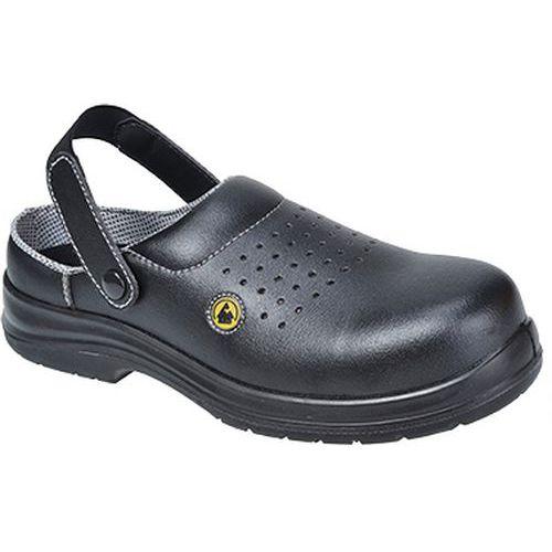 Sandále Portwest Compositelite ESD Clog SB AE, čierna