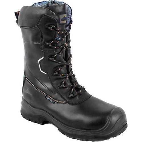 CompositeLite Traction 10 palcov (25 cm) bezpečnostná obuv S3 HRO CI WR, čierna