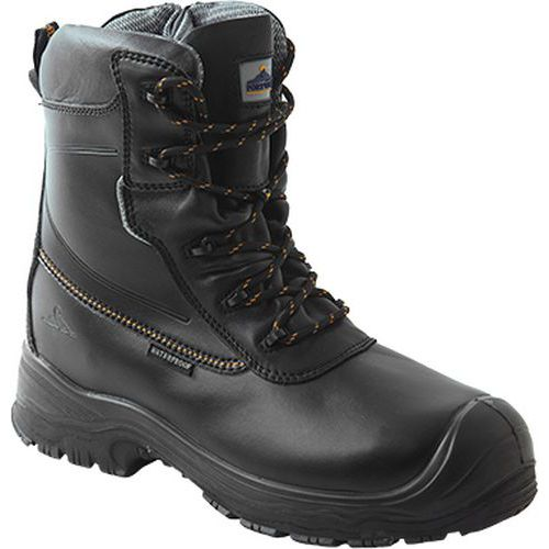 Bezpečnostná obuv S3 HRO CI WR Traction 7inch (18cm), čierna