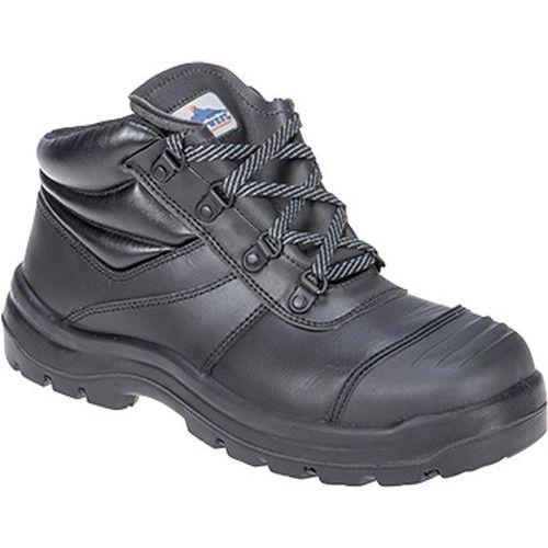 Trent bezpečnostná obuv S3 HRO CI HI FO, čierna