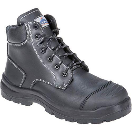 Clyde bezpečnostná obuv S3 HRO CI HI FO, čierna