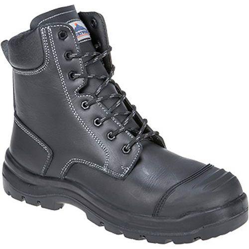 Eden bezpečnostná obuv S3 HRO CI HI FO, čierna