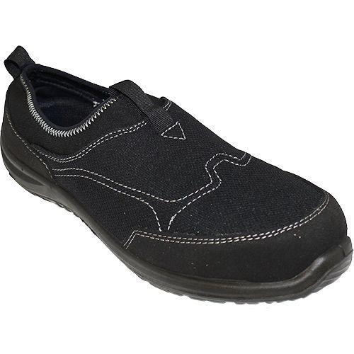 Steelite Tegid Slip On S1P, čierna