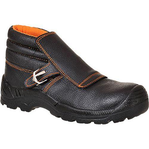 Topánky pre zváračov Portwest Compositelite S3 HRO, čierna