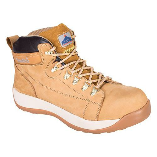 Topánky Steelite Mid Cut Nubuck SB HRO, svetložltá