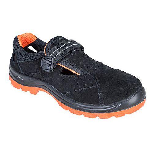 Sandále Steelite Obra S1, čierna