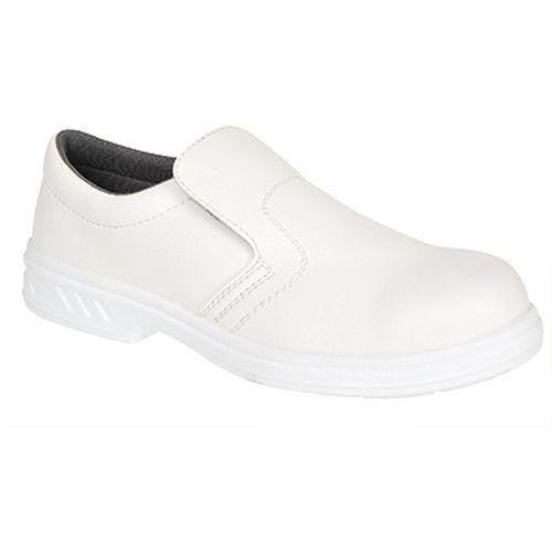 Poltopánky Steelite Slip On S2, biela