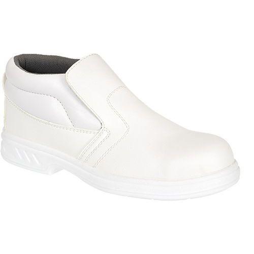 Topánky Steelite Slip On S2, biela