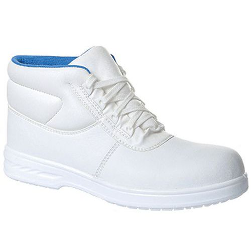 Topánky Albus Steelite S2, biela