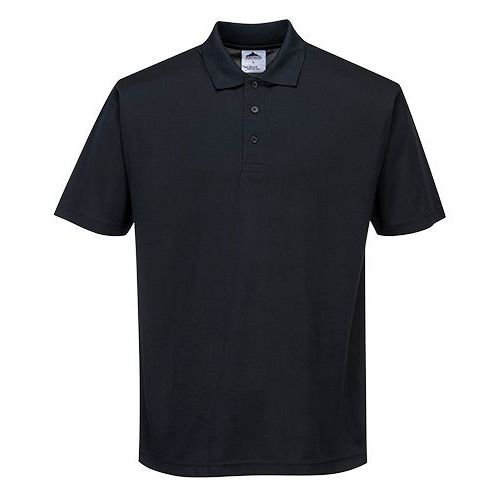 Terni Polo tričko, čierna