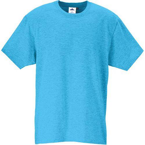 Tričko s krátkym rukávom Turin Premium, svetlomodrá