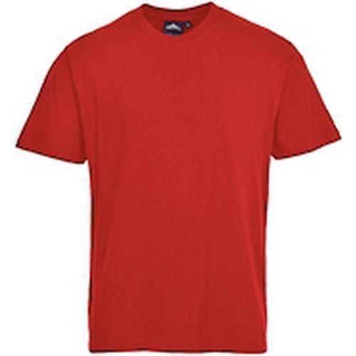 Tričko s krátkym rukávom Turin Premium, červená
