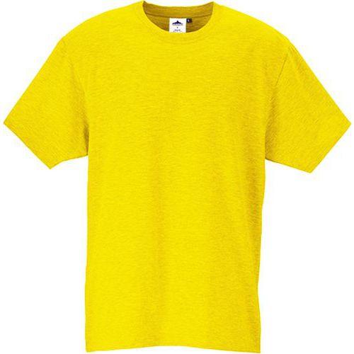 Tričko s krátkym rukávom Turin Premium, žltá