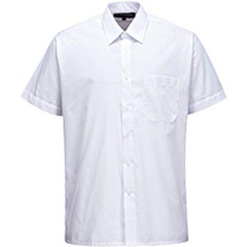 Košeľa s krátkym rukávom Classic, biela