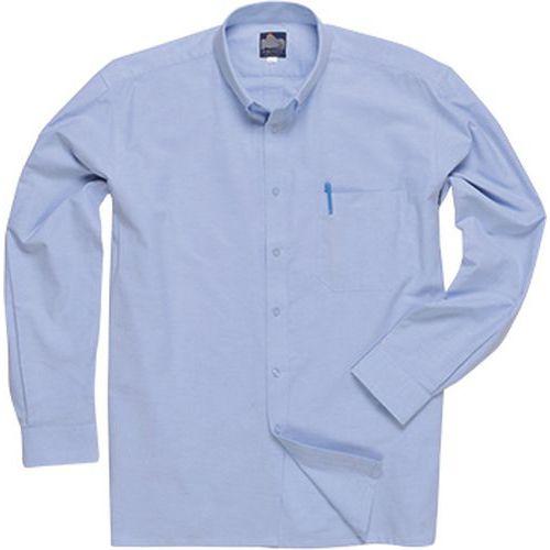Košeľa Oxford s dlhým rukávom, modrá