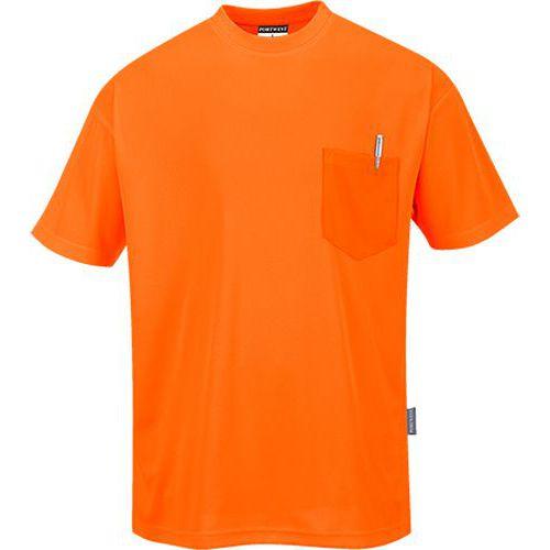 Day-Vis tričko s krátkym rukávom, oranžová