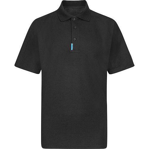 WX3 Polo tričko, čierna