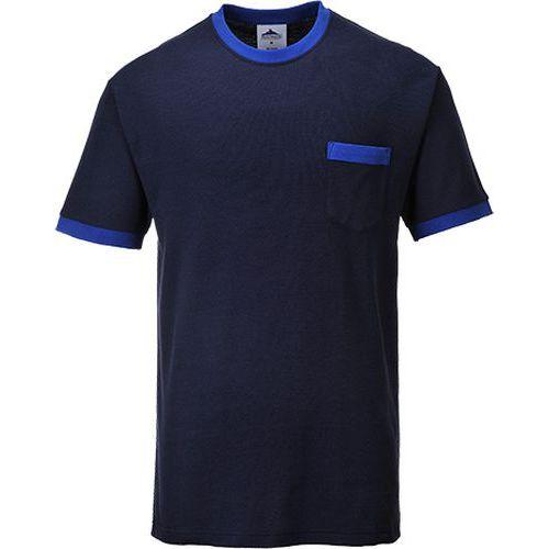 Tričko Portwest Texo Contrast, modrá