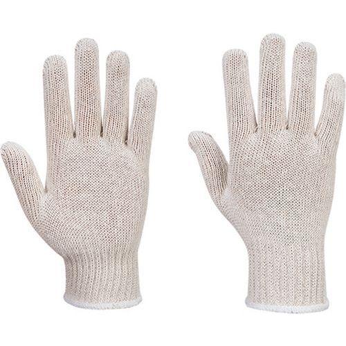 Pletené rukavice (300 párov), biela