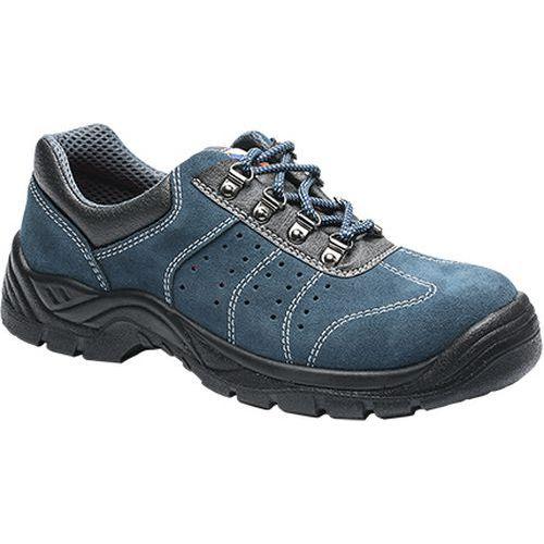 Tenisky perforované Steelite S1P, modrá