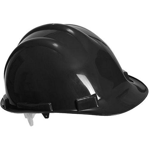 Bezpečnostná prilba Expertbase, čierna