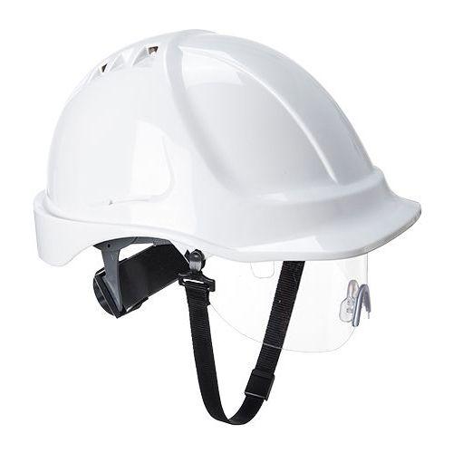 Bezpečnostná prilba Endurance Visor, biela