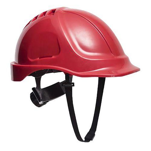 Bezpečnostná prilba Endurance Visor, červená