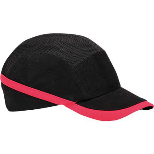 Ventilovaná nárazová čiapka, čierna