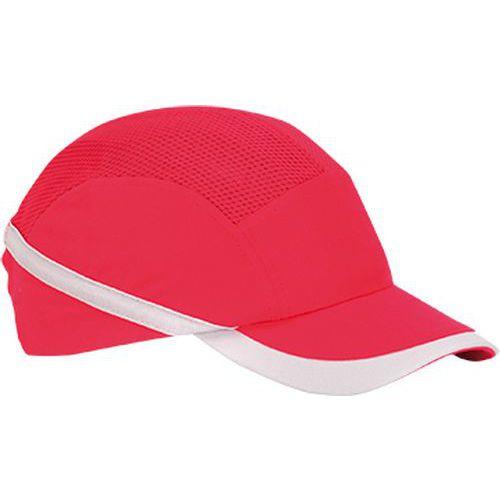 Ventilovaná nárazová čiapka, červená