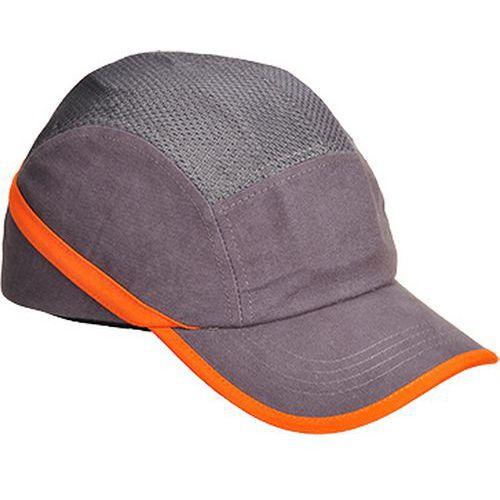 Ventilovaná nárazová čiapka, sivá