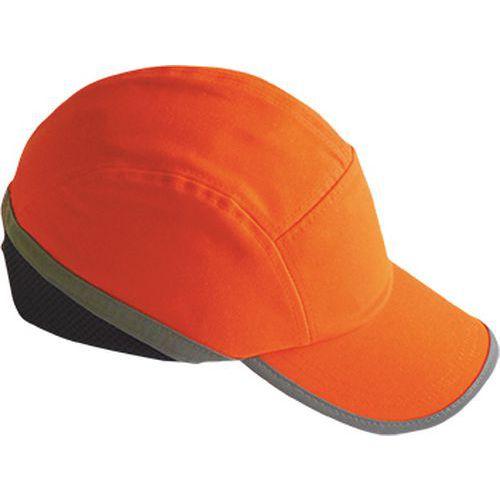 Nárazuodolná čiapka Hi-Vis, oranžová