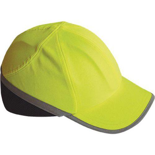 Nárazuodolná čiapka Hi-Vis, žltá