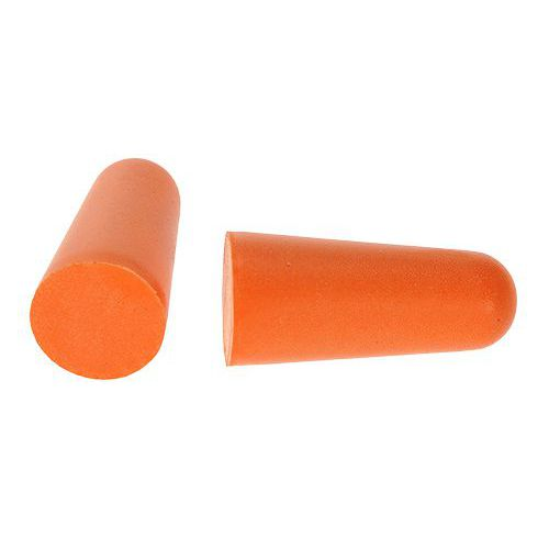 Ušné zátky PU (200 párov), oranžová