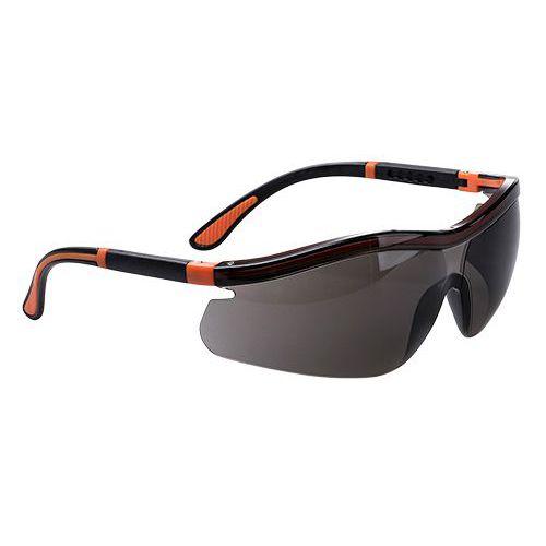 Neon bezpečnostné okuliare, dymová