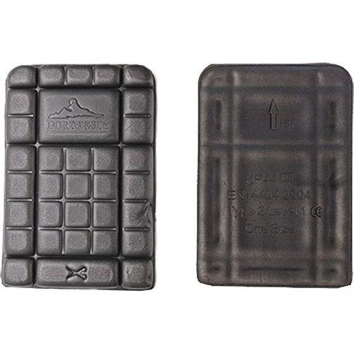 Kolenné vložky CE, čierna