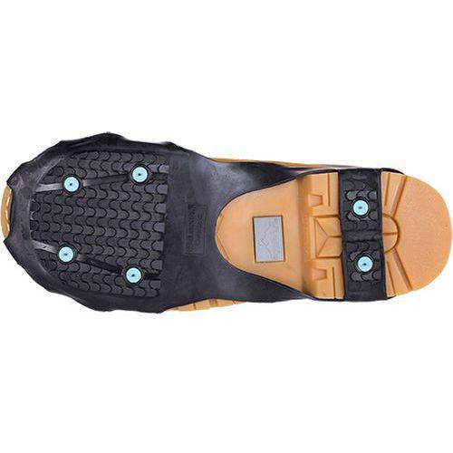 Protišmykové návleky na obuv pre nadmerné veľkosti obuvi, čierna