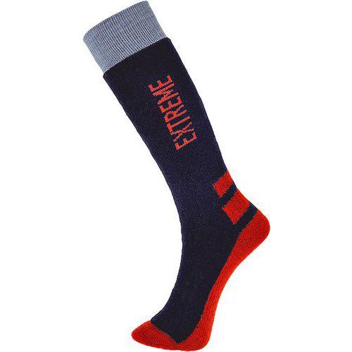 Ponožky do extrémne chladného počasia, modrá