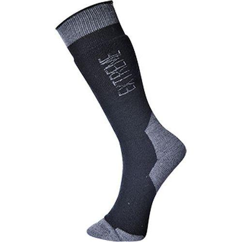 Ponožky do extrémne chladného počasia, čierna