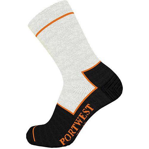 Rezu odolná ponožka, čierna